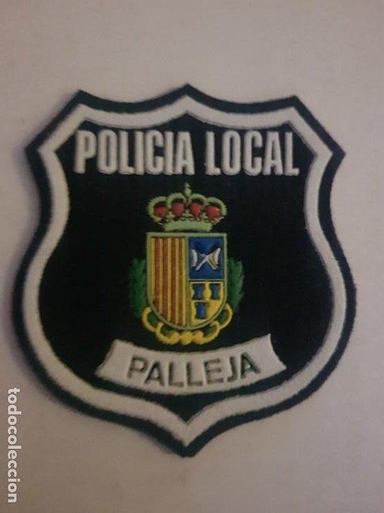 PARCHE AÑOS 80 POLICIA LOCAL MUNICIPAL PALLEJA CATALUÑA (Militar - Parches de tela )