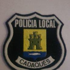 Militaria: PARCHE POLICIA LOCAL MUNICIPAL CADAQUES CATALUÑA. Lote 194241082