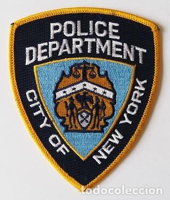 PARCHE POLICÍA, USA (1047) (Militar - Parches de tela )