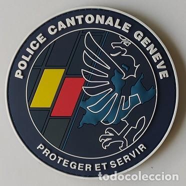 PARCHE POLICÍA, SUIZA (299) (Militar - Parches de tela )