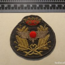 Militaria: EMBLEMA BORDADO GORRA AVIACION MILITAR. Lote 194522916