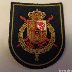 Militaria: PARCHE EMBLEMA DE BRAZO A COLOR GUARDIA REAL JUAN CARLOS I. Lote 194691782