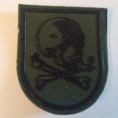 Militaria: PARCHE EMBLEMA DE BRAZO VERDE PRIMER MODELO REGIMIENTO LUSITANIA 8 BRIPAC. Lote 194694256