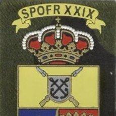 Militaria: PARCHE MISION INTERNACIONAL AGT ALAVA SPOFR XXIX. Lote 194737256