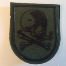Militaria: PARCHE EMBLEMA DE BRAZO VERDE PRIMER MODELO REGIMIENTO DE CABALLERÍA LUSITANIA 8 BRIPAC. Lote 194764861