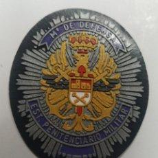 Militaria: PARCHE EMBLEMA A COLOR DE ESTABLECIMIENTO PENITENCIARIO MILITAR MINISTERIO DE DEFENSA. Lote 194767700