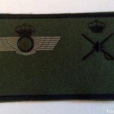 Militaria: PARCHE EMBLEMA DE PECHO VERDE DE GENERAL DE BRIGADA CUERPO GENERAL E. DEL AIRE. Lote 194787958