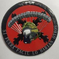 Militaria: PARCHE EMBLEMA TEX-FLEX CRAV BRIPAC CON VELCRO. Lote 194876181