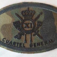 Militaria: PARCHE EMBLEMA DE PECHO CAMUFLAJE BOSCOSO BRIMZ XI CUARTEL GENERAL. Lote 194882241