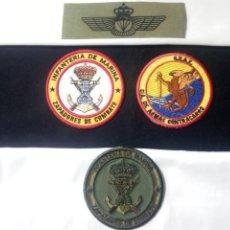 Militaria: LOTE I.M Y TIRA DE PARACAIDISTA.VERDE.NUEVOS.. Lote 194900418