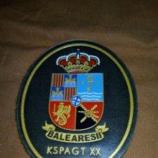 Militaria: PARCHE OVALADOE.T 10,5 X8,5 CM.VELCRO.NUEVO.. Lote 194904497