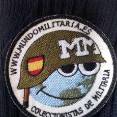 Militaria: PARCHE MUNDO MILITARIA.. Lote 194912073