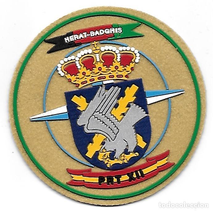 PARCHE ET PRT XII HERAT BRILAT MISION INTERNACIONAL ISAF (Militar - Parches de tela )