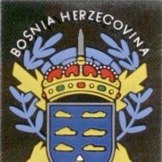 Militaria: PARCHE MISION INTERNACIONAL AGT CANARIAS BOSNIA. Lote 194913832