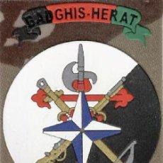 Militaria: PARCHE MISION INTERNACIONAL ASPFOR XIX ISAF BADGHIS HERAT LEGION. Lote 194914191