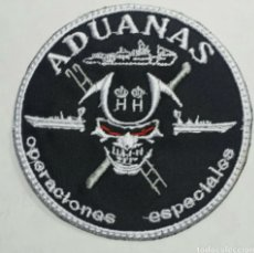 Militaria: PARCHE EMBLEMA BORDADO OPERACIONES ESPECIALES ADUANAS. Lote 235664770
