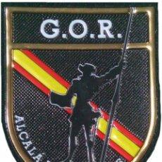 Militaria: POLICÍA NACIONAL CNP GOR CERVANTES ALCALÁ DE HENARES EB01325 PARCHE INSIGNIA EMBLEMA. Lote 195087681