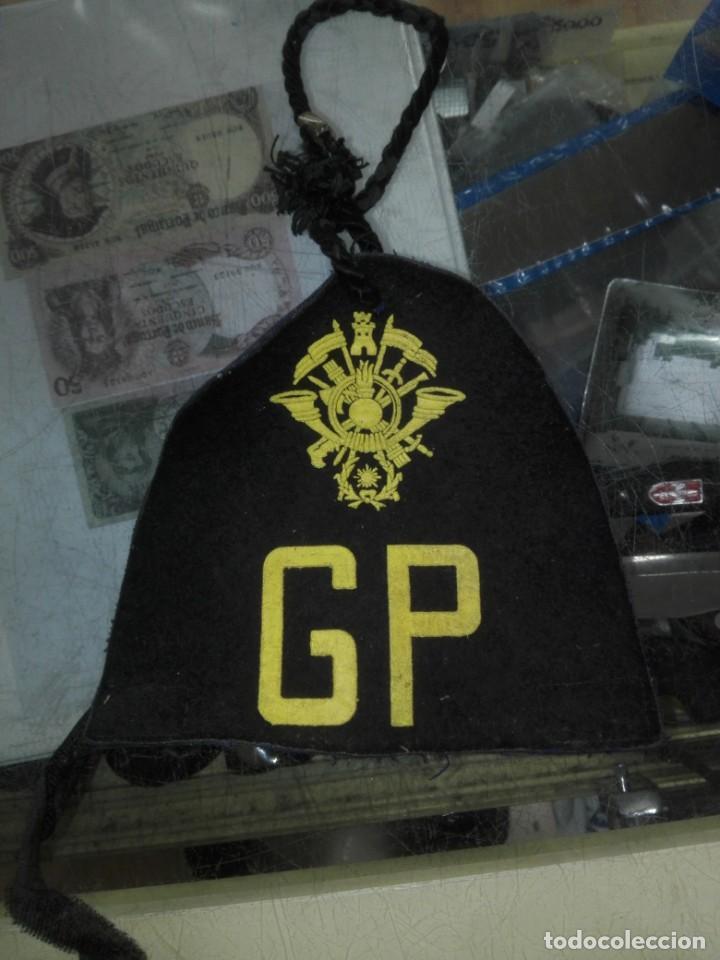 PARCHE EMBLEMA MILITAR EJERCITO ACADEMIA GENERAL MILITAR GP GUARDIA PRINCIPAL ZARAGOZA MIDE15 CM (Militar - Parches de tela )