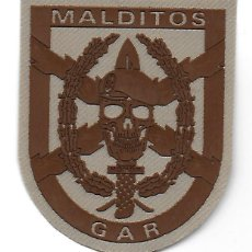 Militaria: PARCHE POLICIA GUARDIA CIVIL GAR MALDITOS ARIDO. Lote 219184368