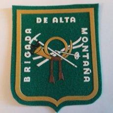 Militaria: PARCHE EMBLEMA DE BRAZO A COLOR DE LA BRIGADA DE ALTA MONTAÑA. Lote 195411420