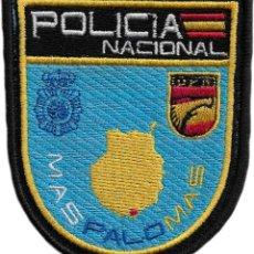 Militaria: POLICIA NACIONAL CNP UPR MASPALOMAS ISLAS CANARIAS PARCHE INSIGNIA EMBLEMA EB01423. Lote 195414498