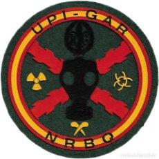 Militaria: GUARDIA CIVIL UPI GAR NRBQ PARCHE INSIGNIA EMBLEMA DISTINTIVO EB01414. Lote 195414527