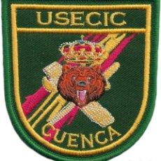 Militaria: GUARDIA CIVIL USECIC CUENCA UNIDAD DE SEGURIDAD CIUDADANA PARCHE INSIGNIA EMBLEMA EB01426. Lote 195428056