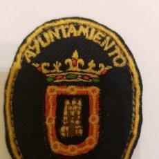 Militaria: PARCHE BORDADO POLICIA AGENTE ALGUACIL MUNICIPAL AZAGRA (NAVARRA) . Lote 195436478