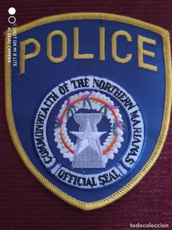 PARCHE POLICIA ISLAS MARIANAS LOCAL MUNICIPAL. EMBLEMA, ESCUDO POLICIAL (Militar - Parches de tela )