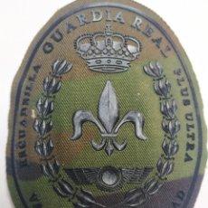 Militaria: PARCHE EMBLEMA CAMUFLAJE ESCUADRILLA PLUS ULTRA GUARDIA REAL. Lote 211656211