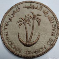 Militaria: PARCHE EMBLEMA DE BRAZO ÁRIDO DIVISIÓN MULTINACIONAL CENTRO SUR IRAQ. Lote 209598346