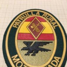 Militaria: PARCHE GUARDIA CIVIL PATRULLA RURAL MOTORIZADA. Lote 196781332