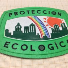 Militaria: PARCHE POLICÍA MUNICIPAL ECOLÓGICA DE MADRID. Lote 196785191