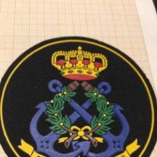 Militaria: PARCHE ESCUELA NAVAL MILITAR. Lote 196804961