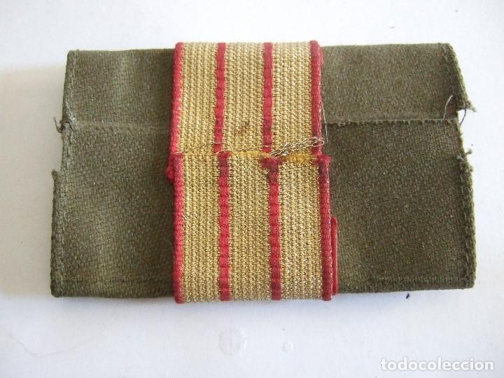 Militaria: PARCHE DE TELA CON TRES FRANJAS - Foto 2 - 197814281