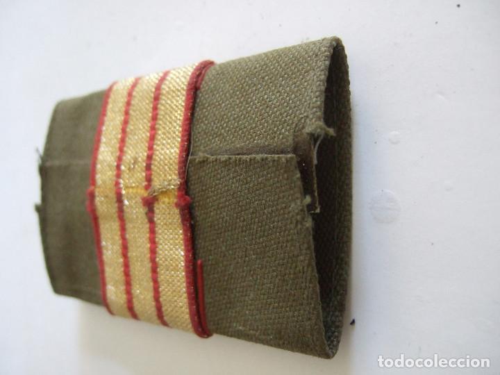 Militaria: PARCHE DE TELA CON TRES FRANJAS - Foto 3 - 197814281