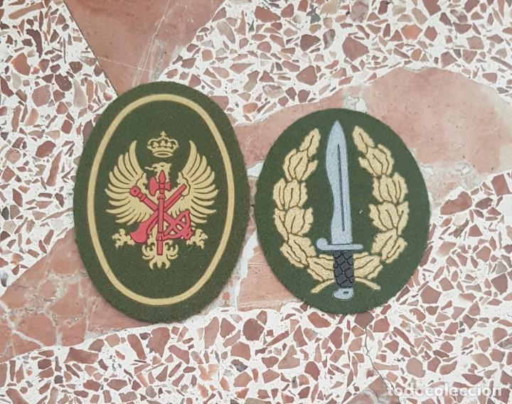PARCHE BOINA LEGION, BANDERA DE OPERACIONES ESPECIALES, BOEL, 1° MODELO (Militar - Parches de tela )