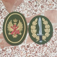 Militaria: PARCHE BOINA LEGION, BANDERA DE OPERACIONES ESPECIALES, BOEL, 1° MODELO . Lote 198201776