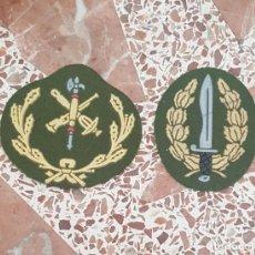 Militaria: PARCHE BOINA LEGION, BANDERA DE OPERACIONES ESPECIALES, BOEL, PARA MANDOS. Lote 198201863