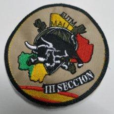 Militaria: PARCHE EMBLEMA DE BRAZO BORDADO A COLOR EUTM MALI LLL SECCIÓN BRIPAC. Lote 211657886