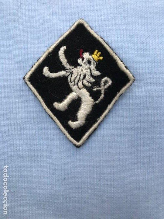 PARCHE FRENTE JUVENTUDES LEON EN BLANCO (Militar - Parches de tela )