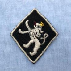 Militaria: PARCHE FRENTE JUVENTUDES LEON EN BLANCO. Lote 200621537