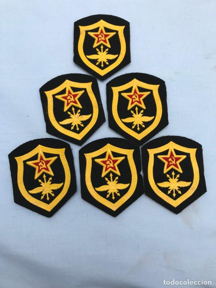 LOTE 6 PARCHES RUSOS (Militar - Parches de tela )
