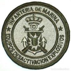 Militaria: PARCHE INFANTERIA DE MARINA EQUIPOS DESACTIVACION DE EXPLOSIVOS. Lote 202797843