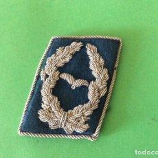 Militaria: PARCHE DE RANGO DE CUELLO PARA COMANDANTE LUFTWAFFE. II GM. ALEMANIA. Lote 202899832