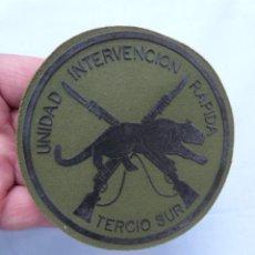 Militaria: PARCHE TERCIO SUR UNIDAD INTERVENCIÓN RÁPIDA - INFANTERIA DE MARINA. Lote 204427008