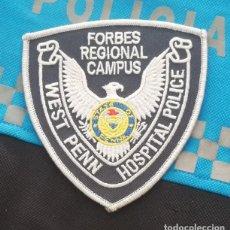 Militaria: PARCHE POLICIA. WEST PENNSYLVANIA HOSPITAL POLICE (PENNSYLVANIA-ESTADOS UNIDOS). Lote 28383131