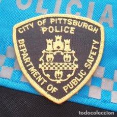 Militaria: PARCHE POLICIA. CITY OF PITTSBURGH POLICE, DEPARTMENT OF PUBLIC SAFETY (PENNSYLVANIA-ESTADOS UNIDOS). Lote 28383544