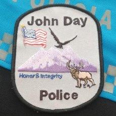 Militaria: PARCHE POLICIA. JOHN DAY POLICE (OREGON-ESTADOS UNIDOS). Lote 28383623