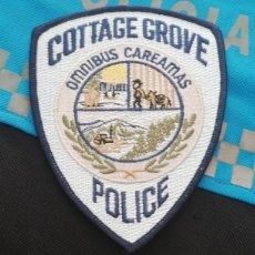 Militaria: PARCHE POLICIA. COTTAGE GROVE POLICE (OREGON-ESTADOS UNIDOS). Lote 28383633